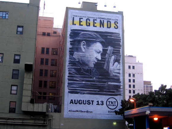 Legends mural in San Diego. Don't kill Sean Bean!