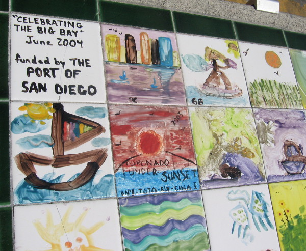 Celebrating the Big Bay, June 2004. Funded by The Port of San Diego.