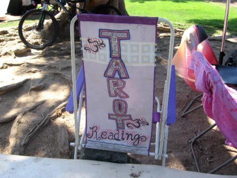 Handmade sign in Embarcadero Marina Park North beside Seaport Village.