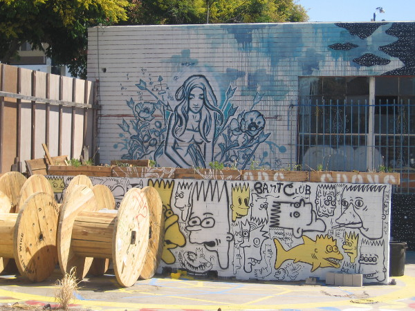 More Bart Club street art shows up at SILO in Makers Quarter.