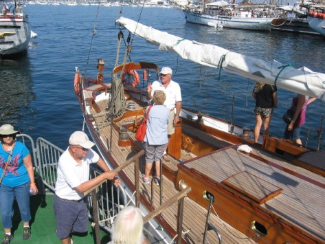 This sailing ship won many East Coast races in the 1920's and 1930's.