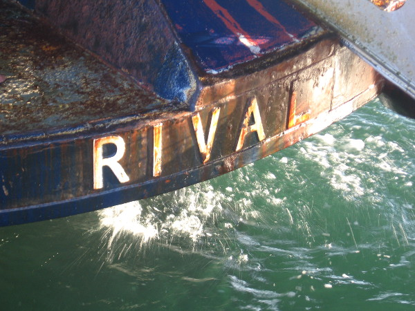 One live bait boat is named Rival.