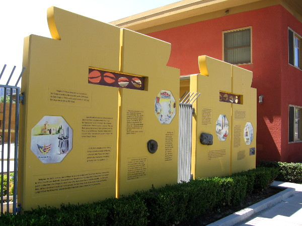 Public art at Lillian Place shows African-American history in San Diego.