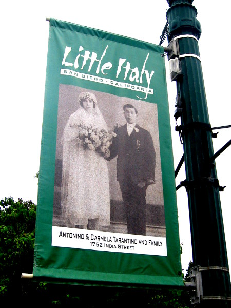 Past lives become legends in the annals of Little Italy's history.
