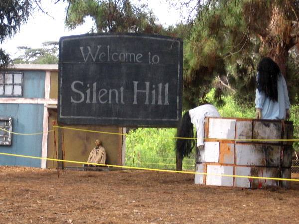 Welcome to Silent Hill, where nightmares rise from a well.