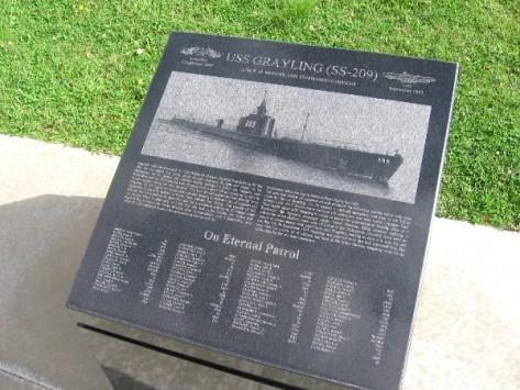 USS Grayling (SS-209) on eternal patrol.