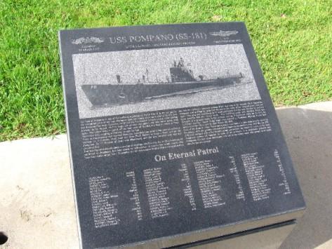 USS Pompano (SS-181) on eternal patrol.