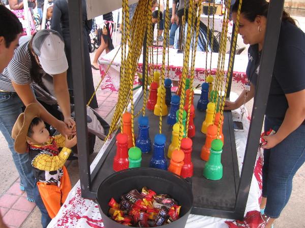 Family fun and games filled El Prado the weekend before Halloween.