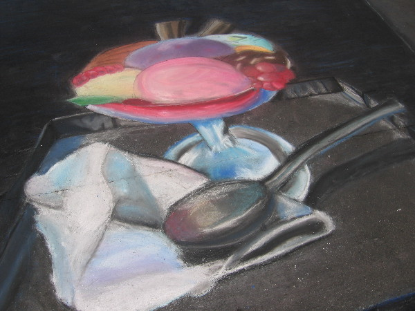 Torrey Hills Elementary kids created some really amazing chalk artwork!