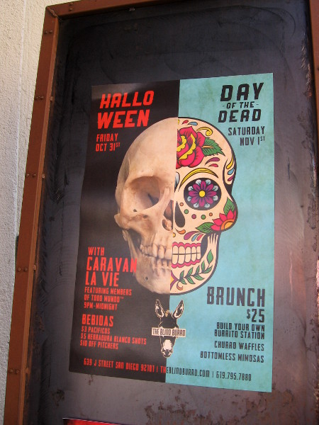 Gaslamp parties celebrate Halloween and Day of the Dead.