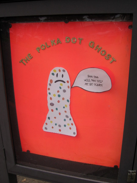 Marie Hitchcock Puppet Theater is showing The Polka Dot Ghost.