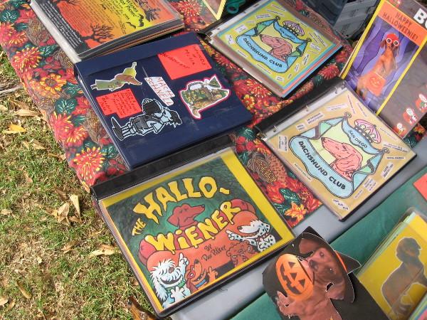 The San Diego Dachshund Club's Hallo-Wiener Picnic was held in Balboa Park.