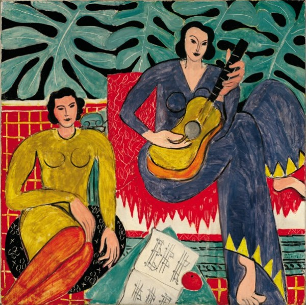 Henri Matisse, La Musique, 1939, courtesy the Albright-Knox Art Gallery.