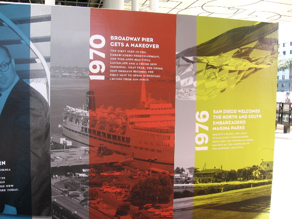 Both North and South Embarcadero have seen dramatic changes over the decades.