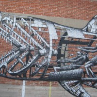 Cool street art memories for a rainy day.