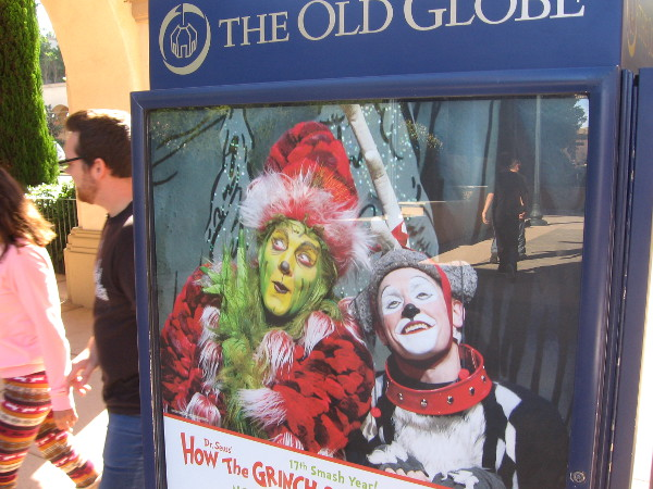How the Grinch Stole Christmas is playing at the Old Globe for its 17th season!