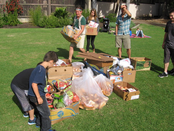 A little diving in San Diego grocery store dumpsters yielded lots of good food.