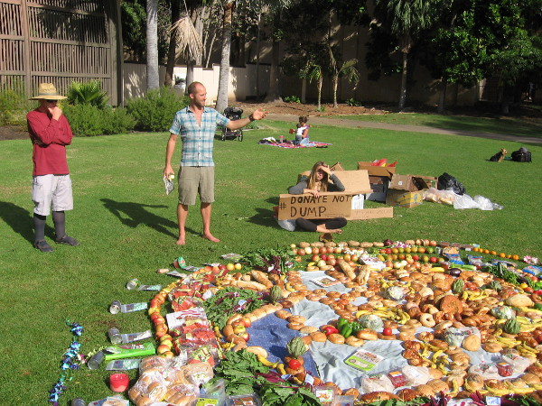 Rob Greenfield explains that more needs to be done to save perfectly good food.