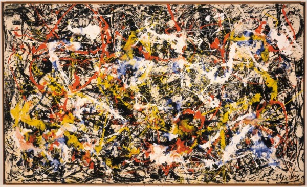 Jackson Pollock, Convergence, 1952, courtesy the Albright-Knox Art Gallery.