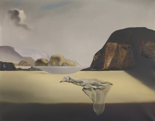Salvador Dalí, The Transparent Simulacrum of the Feigned Image, 1938, courtesy the Albright-Knox Art Gallery.