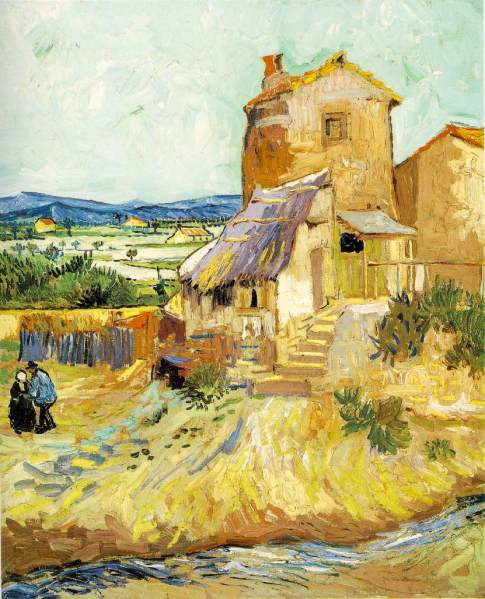 Vincent Van Gogh, The Old Mill, 1888, courtesy the Albright-Knox Art Gallery.