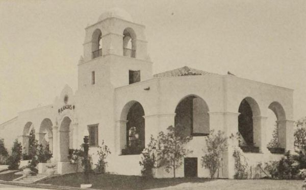 Kansas State Building at Panama-California Exposition. Most of these old state buildings no longer exist today, a hundred years later.