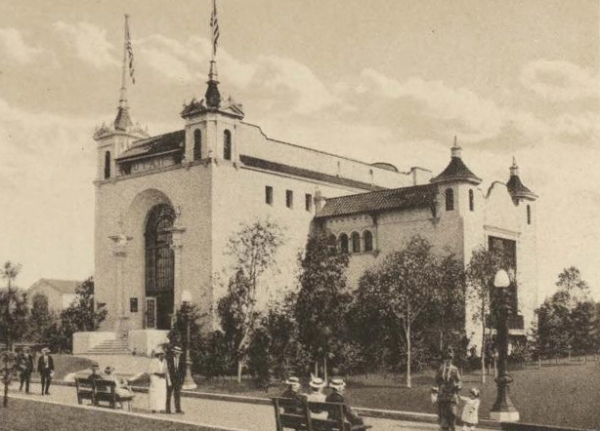 Utah State Building at the Panama-California Exposition.