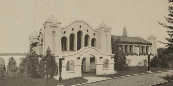 Washington State Building at the Panama-California Exposition.