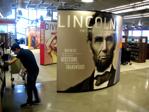 Abraham Lincoln, slavery, the Constitution, dissent, the Civil War, and lingering questions.