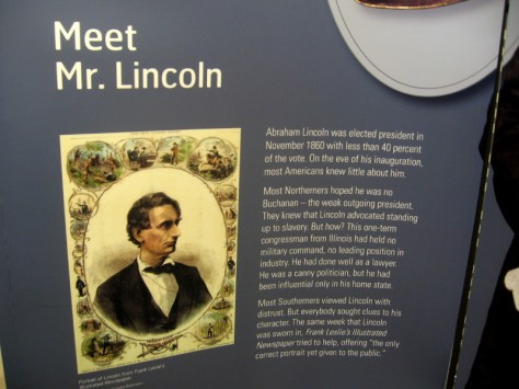Meet Mr. Lincoln. The new American president was viewed by some with uncertainty or distrust.