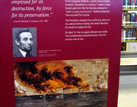 The Confederacy attacked Fort Sumter after Lincoln decided to resupply the fortification.