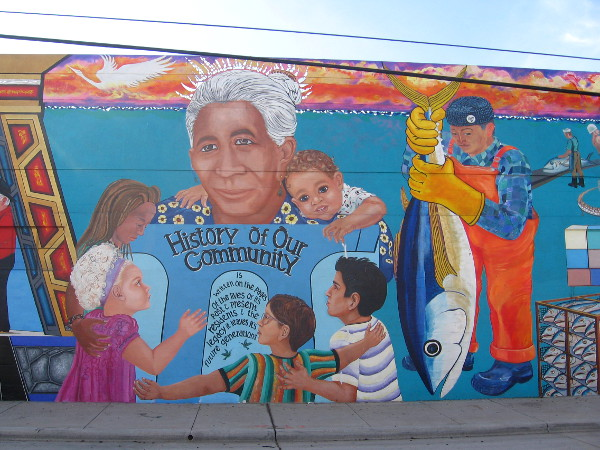 History of Our Community includes the once vital tuna fishing industry.