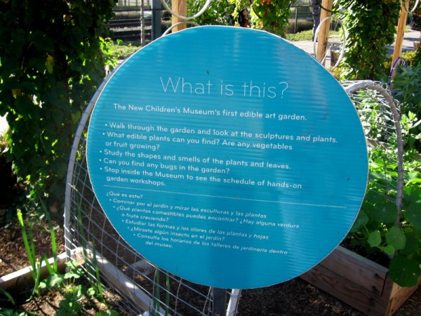 Kids can explore gardening and learn with their own hands about our environment.