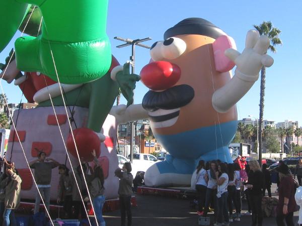 Cool! I see Mr. Potato Head!