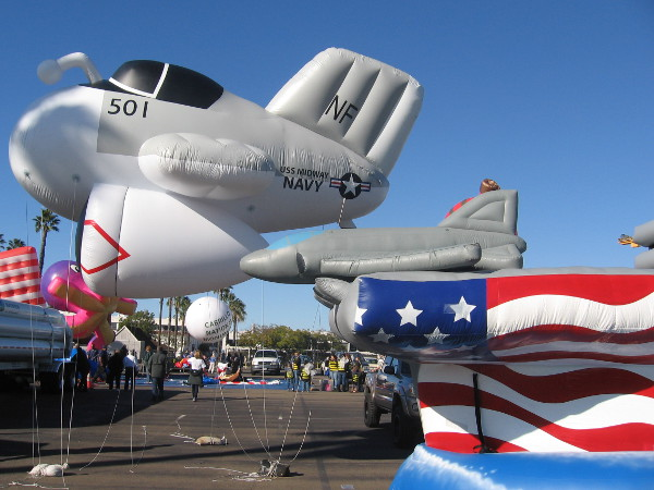 USS Midway Museum had a lighter-than-air jet fighter.
