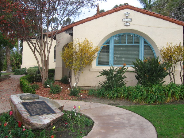 House of Iran at Balboa Park's International Cottages and a proclamation supporting human liberty.