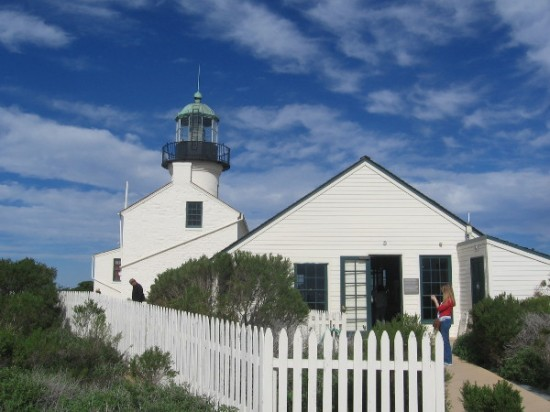 The assistant keeper's quarters next to the lighthouse today contains a small museum.