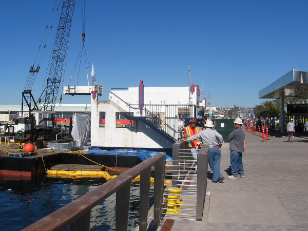 The Bay Cafe is making way for an observation platform on San Diego Bay.