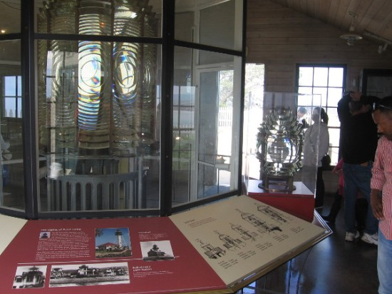 Small museum by Old Point Loma Lighthouse contains various very cool exhibits.
