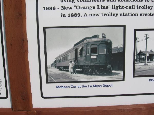 McKeen Car at the La Mesa Depot.