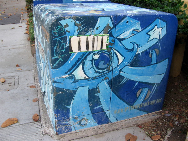 Eyeglass Repair San Diego Hillcrest : Cool utility box artwork around San Diego. Cool San ...