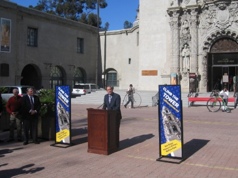 Micah D. Parzen of the San Diego Museum of Man begins by thanking many people.