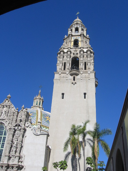California Tower first opened in 1915 for Panama-California Exposition in Balboa Park.