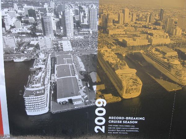 2009: A record-breaking cruise ship season!