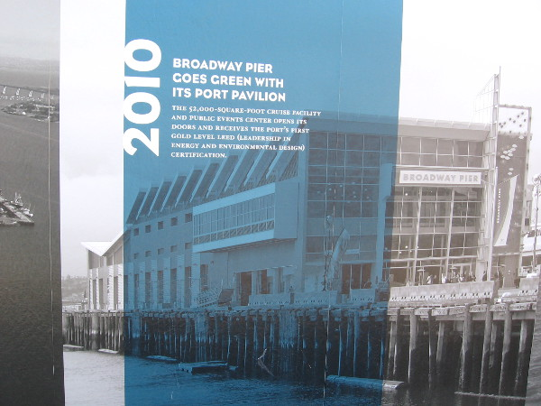 2010: Port Pavilion opens on Broadway Pier. It's been over four years already! Time flies!