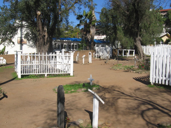 El Campo Santo cemetery in Old Town San Diego contains much history.