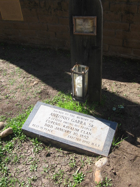 Antonio Garra Sr. was a Native American who rebelled against taxation.