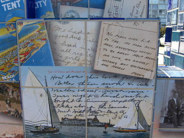 More nostalgic postcards from historic vacation spot.