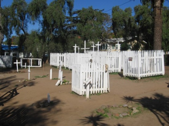 Hundreds of varied, rich life stories were concluded here in this early San Diego cemetery.