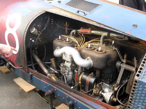 Engine of 1914 Tahis Special that competed in many races!